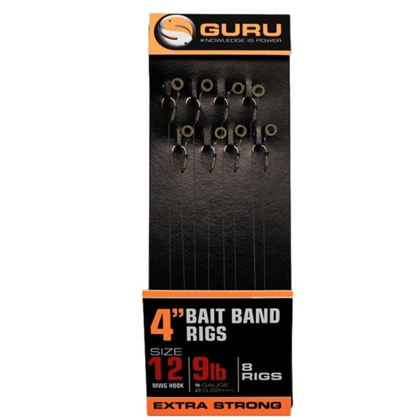 """Picture of Guru Bait Band Ready Rigs 4"""" 10 cm"""