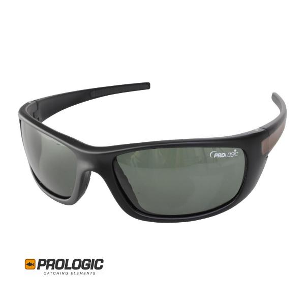 Picture of Prologic Big Gun Black Sunglasses (Gunsmoke Lenses)