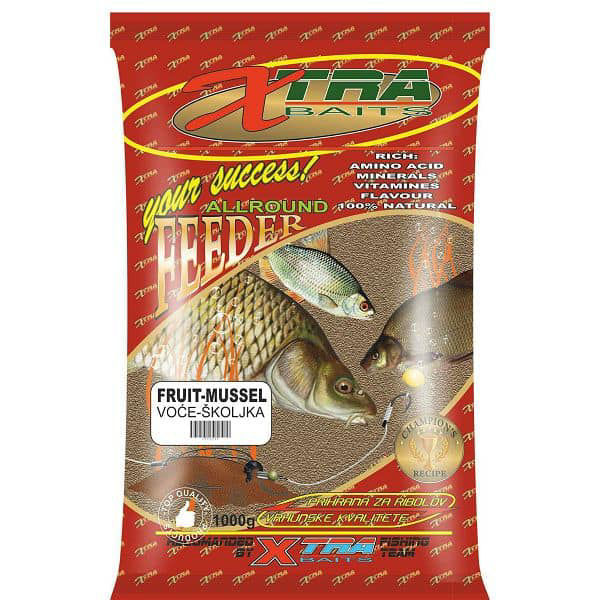 Picture of Xtra Baits Feeder Fruit-Mussel 1 kg