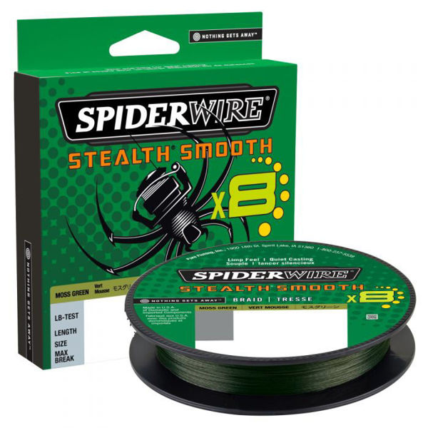Picture of SpiderWire Stealth Smooth 8 Moss Green 150m