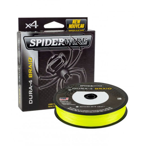 Picture of SpiderWire Dura 4 Yellow 150m