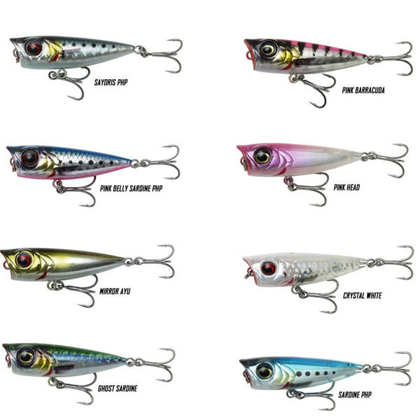 Picture of Savage Gear 3D Minnow Popper 4.3cm 2,6g