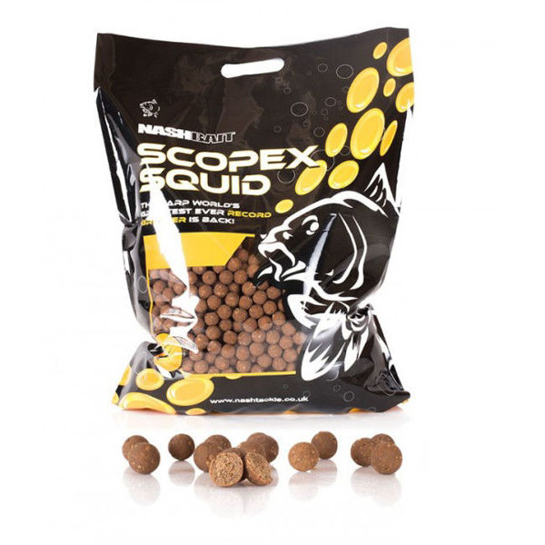 Picture of Nash Scopex Squid Stabilised Boilies 1kg