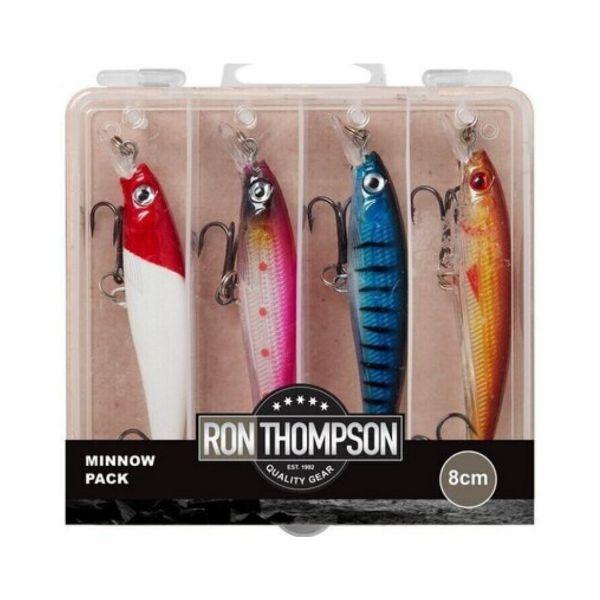 Ron Thompson Minnow Pack Lure Box 8 cm