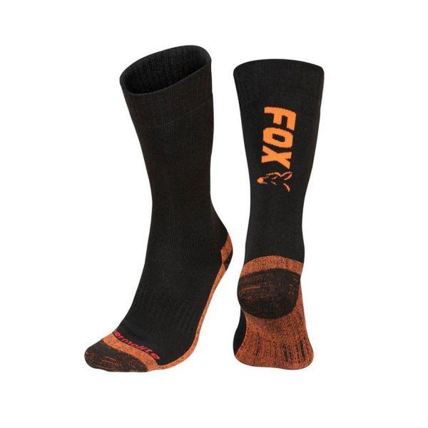 Fox Thermolite Long Sock Black / Orange