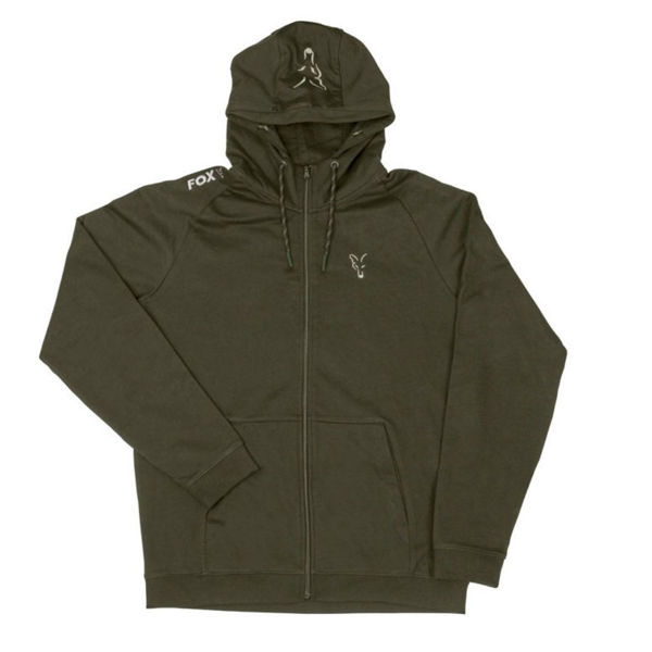 Fox Collection Green Silver LW Hoodie