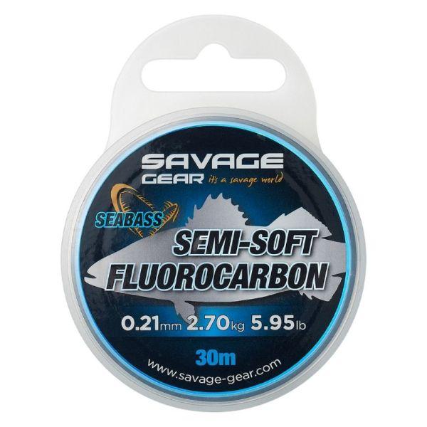 Savage Gear Semi Soft Fluorocarbon SeaBass 30m